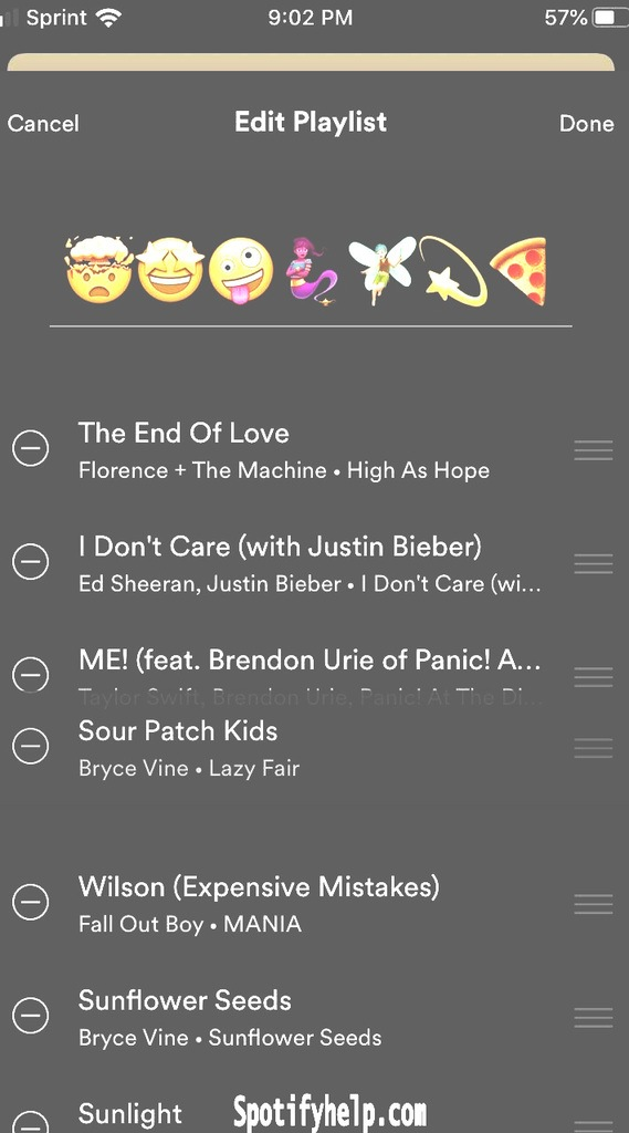 How To Change Spotify Playlist Picture On iPhone