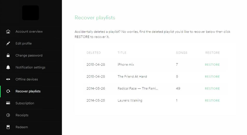 How to Recover Lost Spotify Playlist On PC?