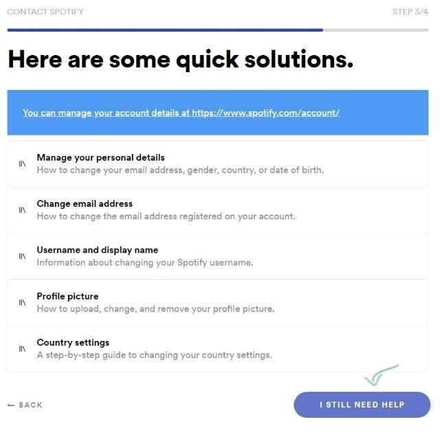 change spotify email