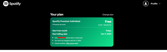 upgrade your free Spotify account to Premium